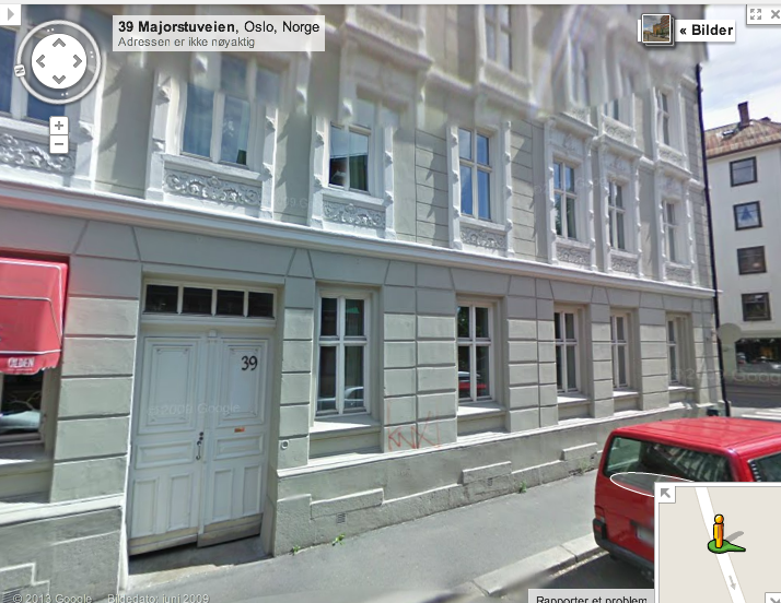 NKFs kontorer i Majorstuveien 39