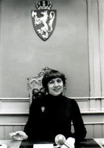 Torild Skard var Norges første kvinnelige lagtingspresident