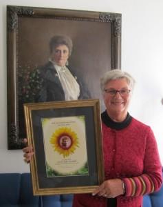 Kirsti Kolle Grøndahl ble tildelt Gina Krog-prisen