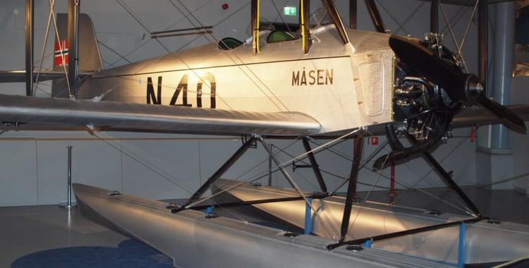Modell av flyet