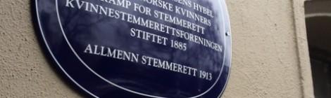Suffragette på norsk