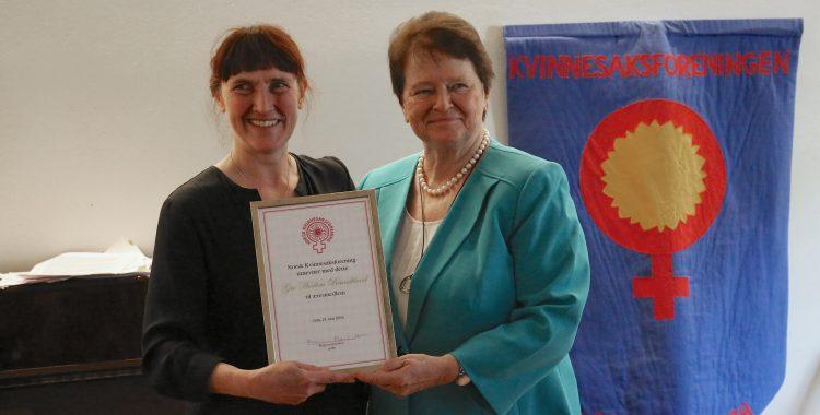 Gro Harlem Brundtland æresmedlem i NKF